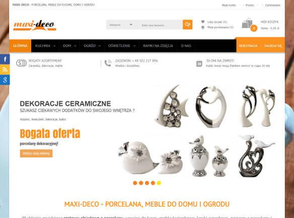 MAXI-DECO sklep z ceramiką