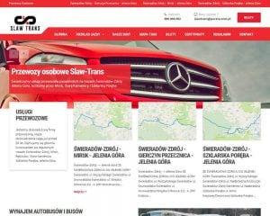Firma transportowa w internecie