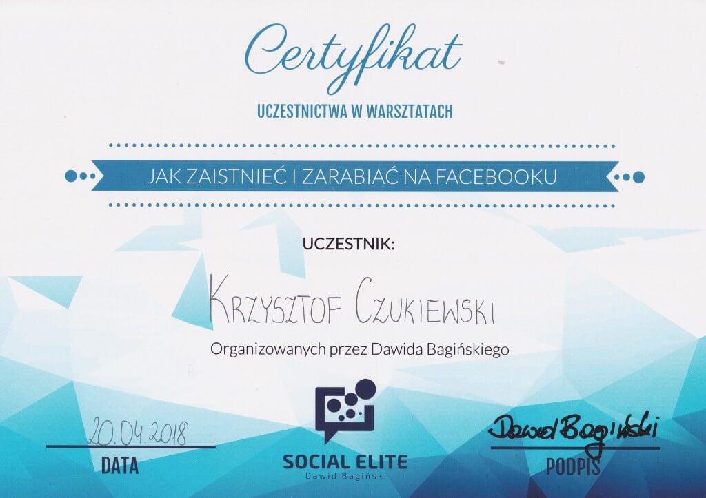szkolenie Facebook