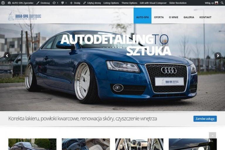 strona www firmy detailingowej