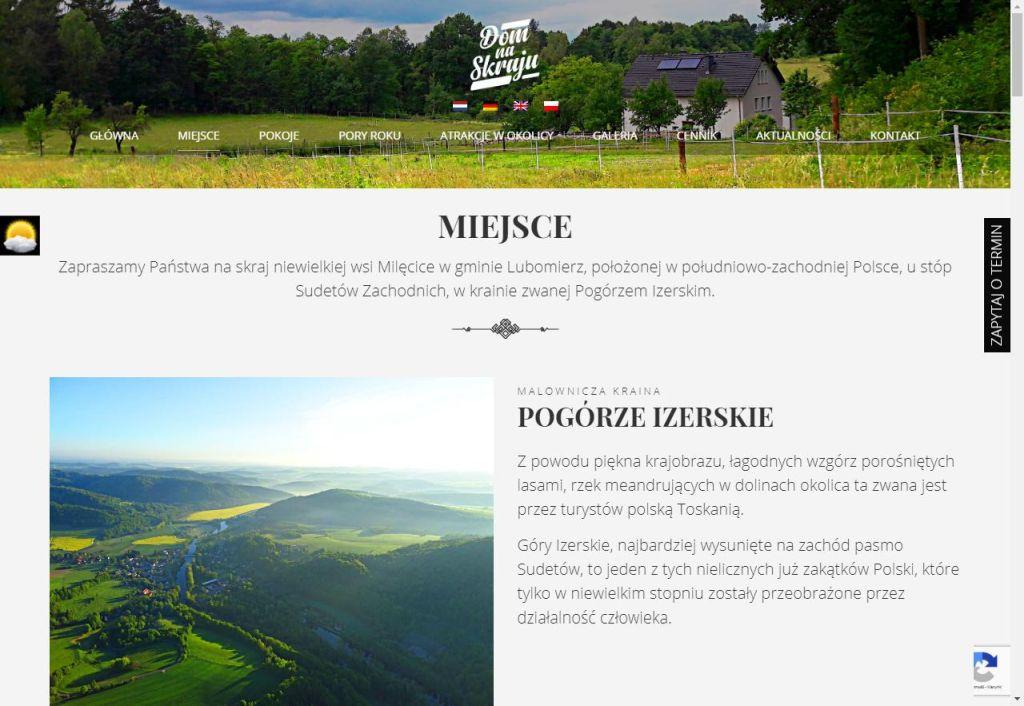 atrakcje regionu na stronie www