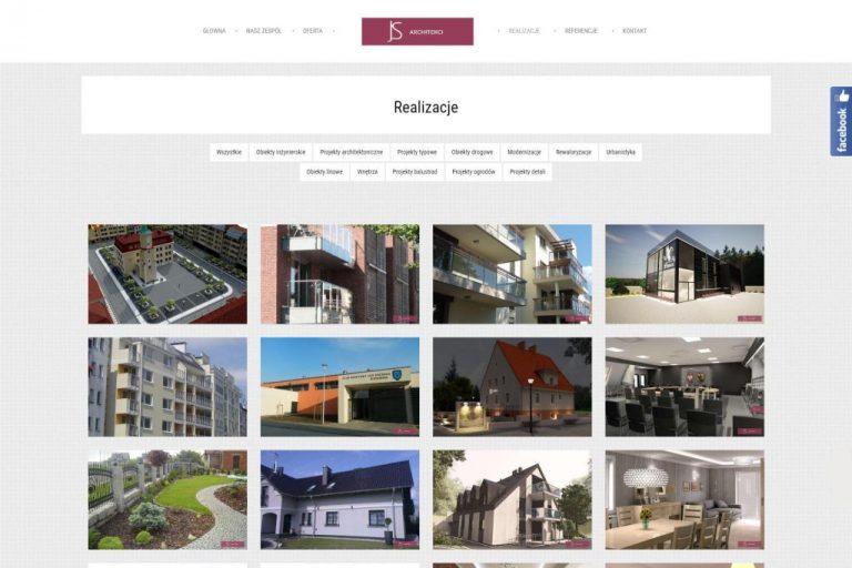 Realizacje i portfolio w JQuery masonry