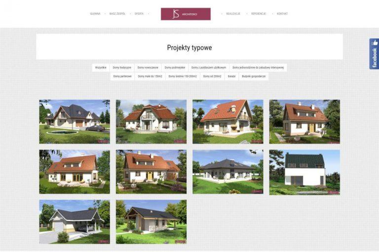 projekty budowy domów na stronie internetowej
