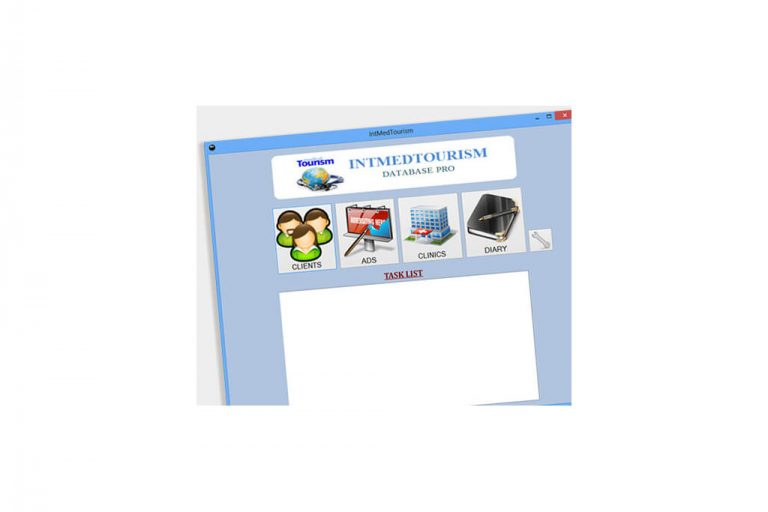 Dedykowana aplikacja desktopowa Intmedtourism