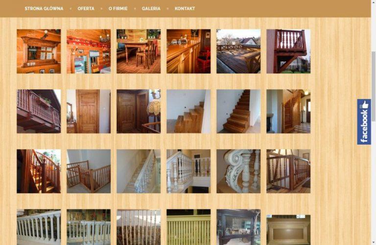 realizacje firmy stolarskiej