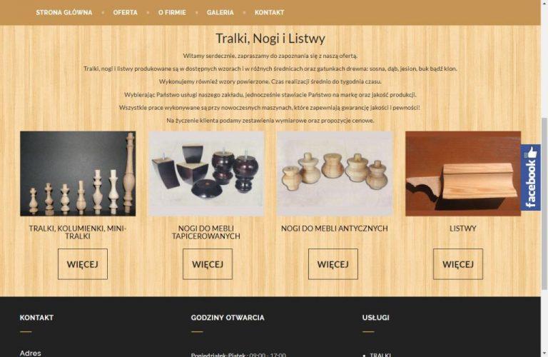 oferta firmy stolarskiej