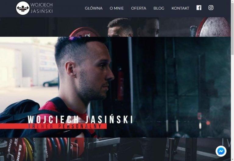 strona www dla trenera personalnego