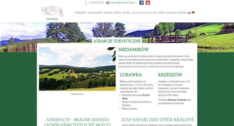 atrakcje okolicy na stronie www