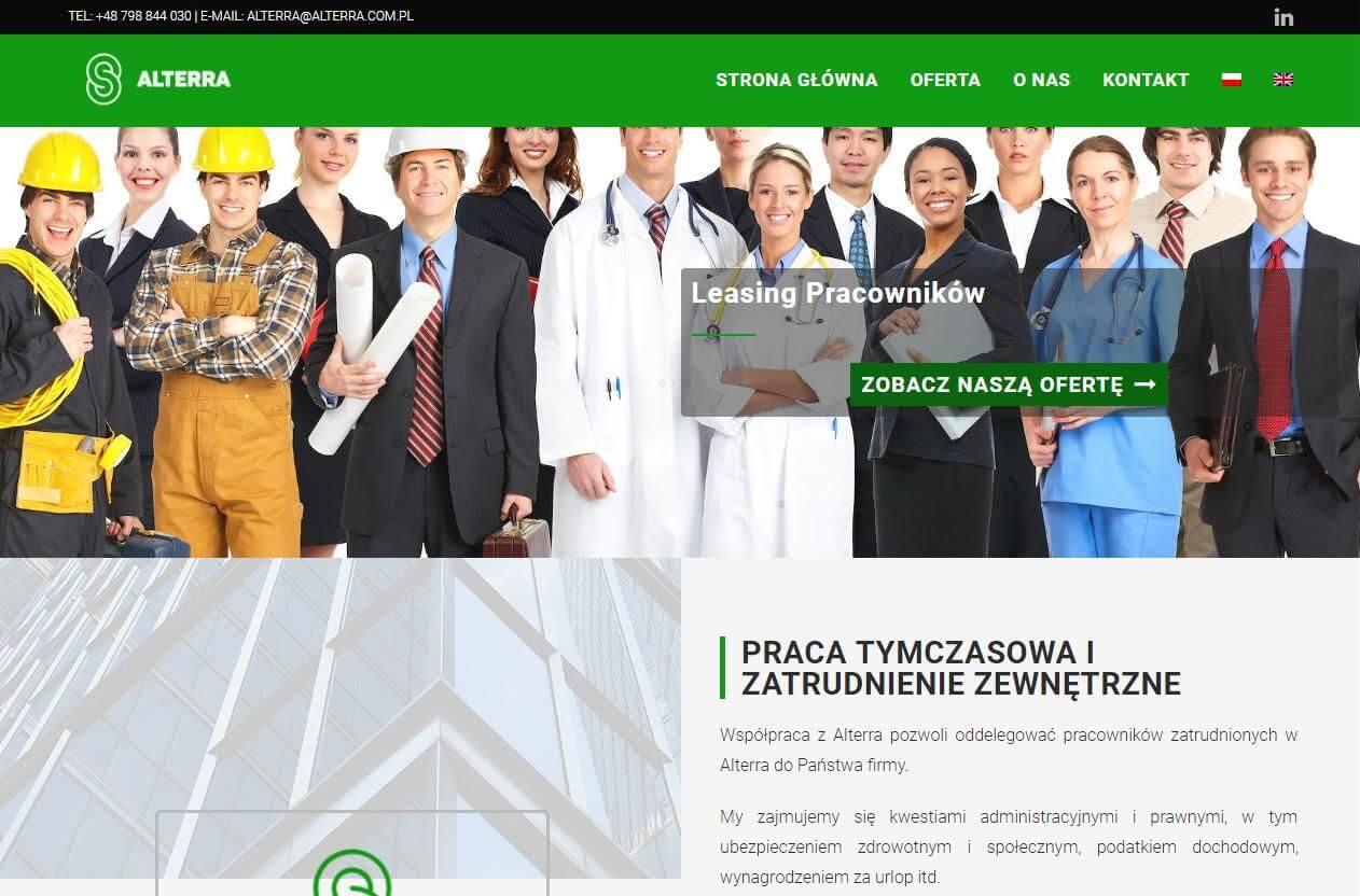strona www leasing pracowników