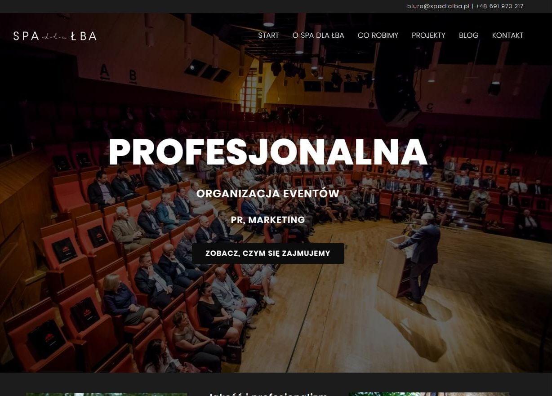 strona główna agencji PR