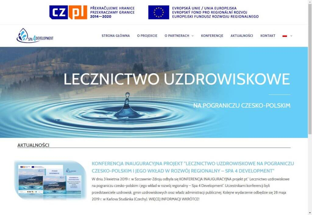 witryna www informacyjna