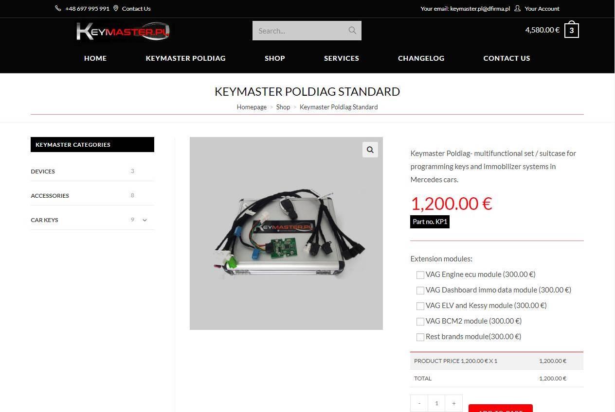 karta produktu w sklepie internetowym