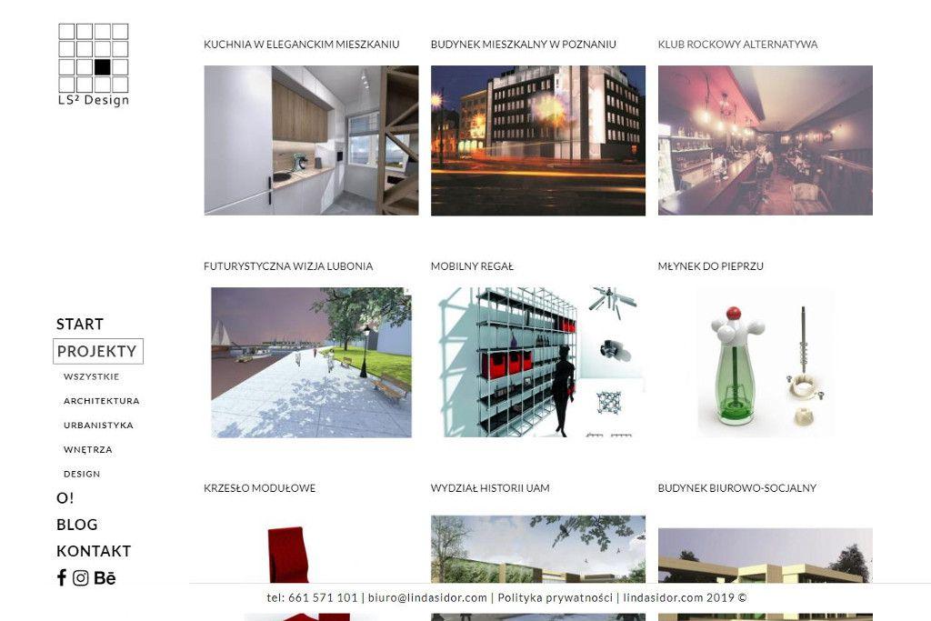 strona biura projektowego