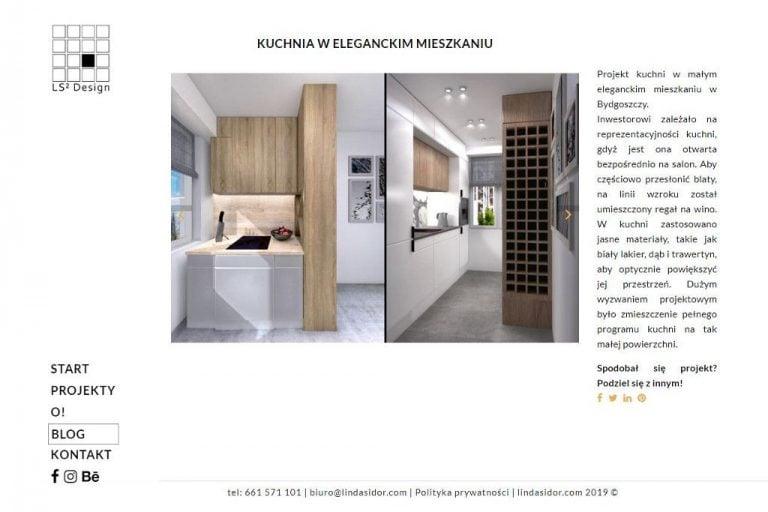 Prezentacja projektu: galeria + opis
