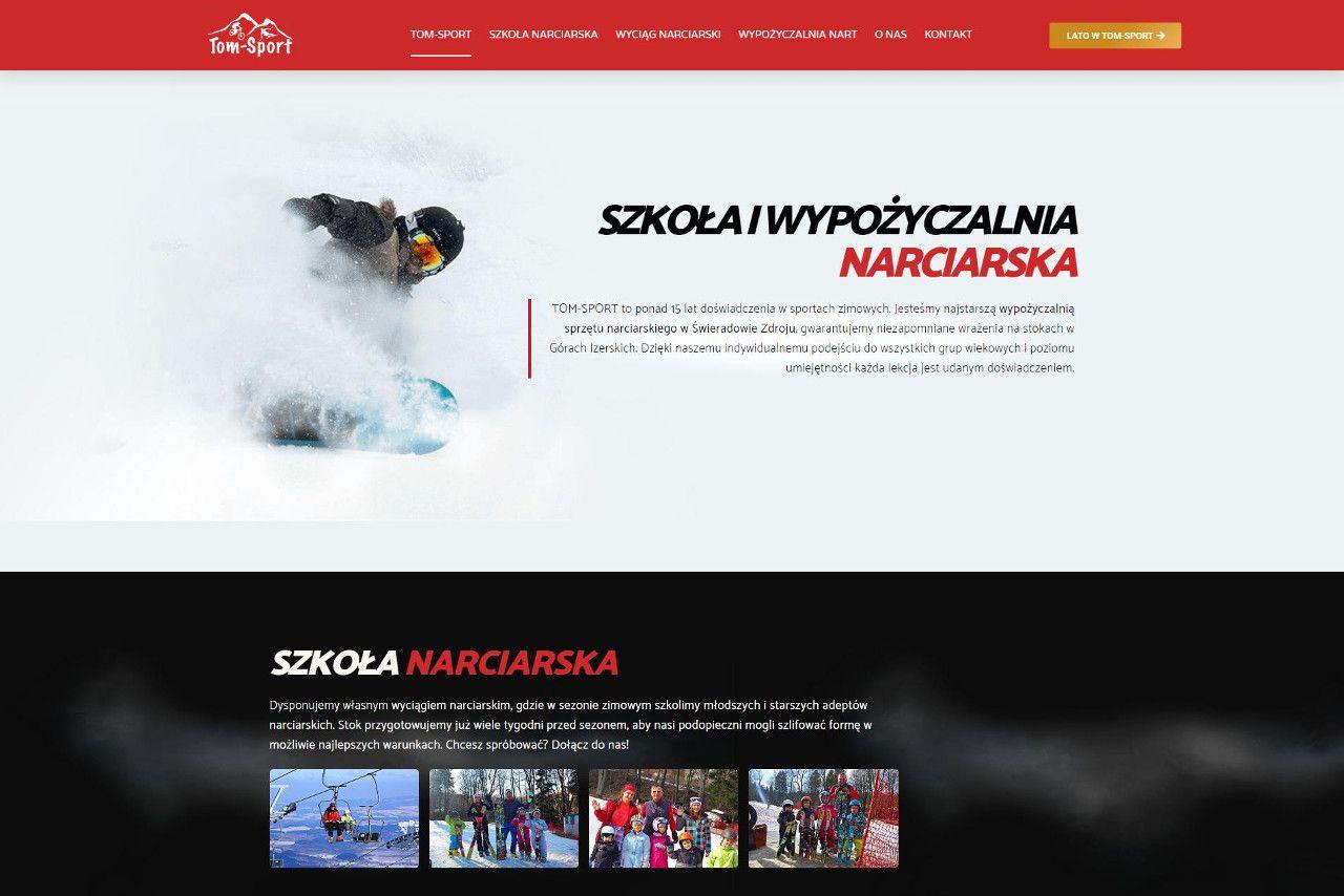 tom-sporty strona główna szkoły narciarskiej