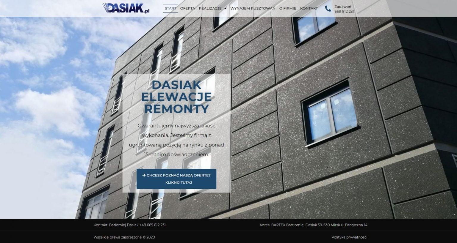 strona główna dasiak.pl