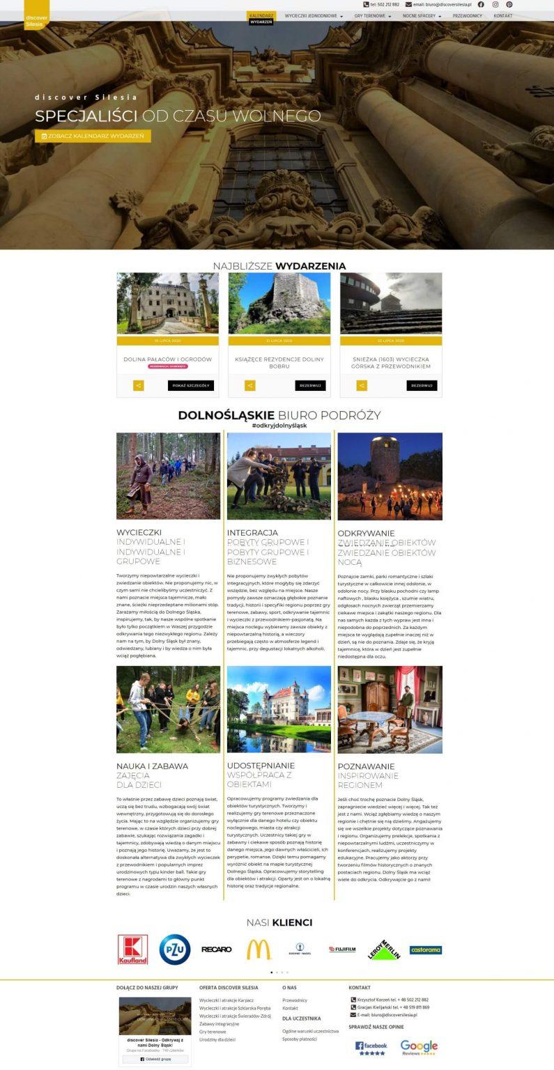strona główna biura podróży
