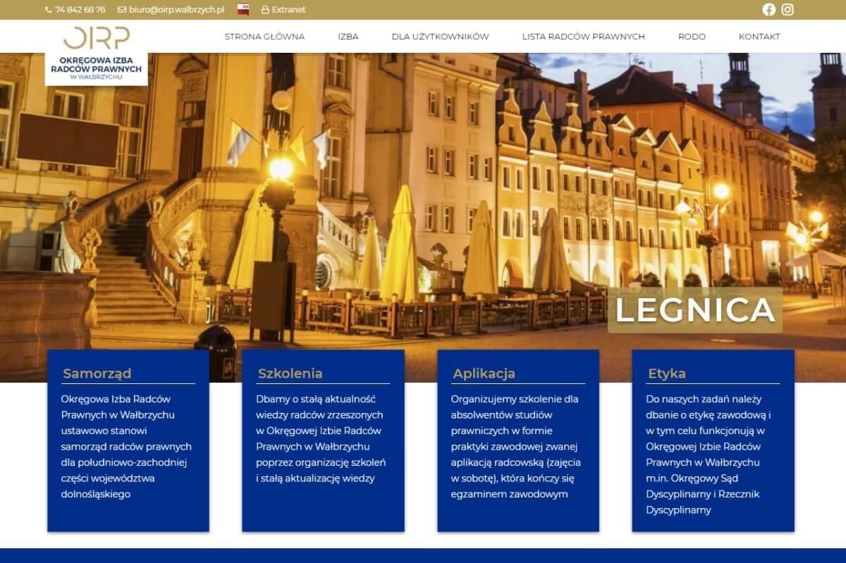 strona główna izby radców prawnych w wałbrzychu